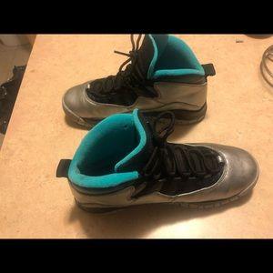 Air Jordan 10s X lady liberty sz 7y